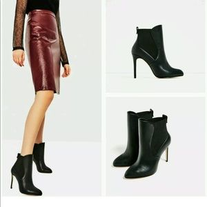 ZARA High Heel Ankle Boots with Elastic 6114/101